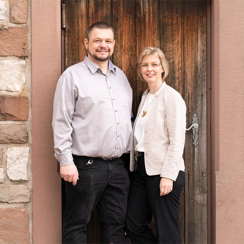 Felix und Sandra Ihringer